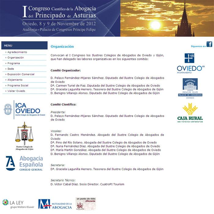 I Congreso de la Abogacía del Principado de Asturias