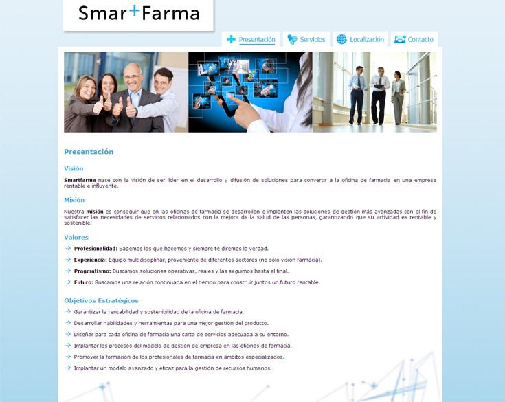 SmartFarma - Edise Soluciones: diseño y desarrollo de páginas Web