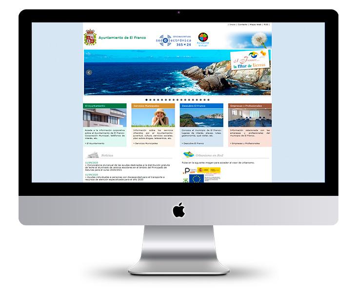 Portal Web Ayuntamiento de El Franco
