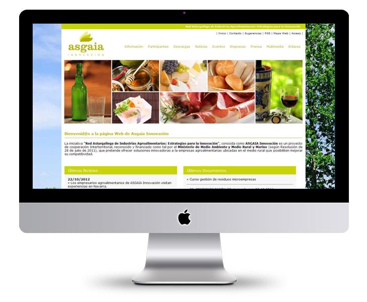 Portal Web de ASGAIA