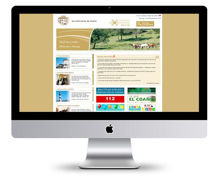 Portal Web Ayuntamiento de Coaña - Asturias