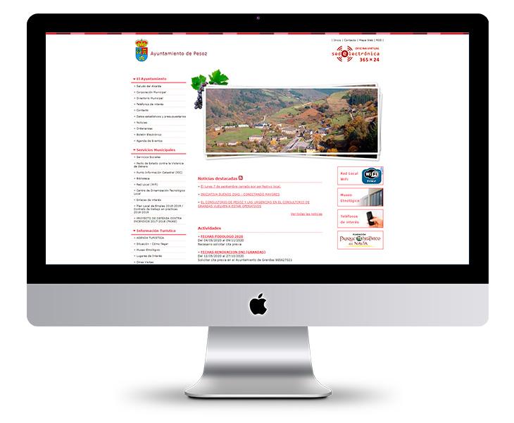 Portal Web del Ayuntamiento de Pesoz - Asturias