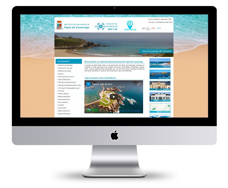 Portal Web Ayuntamiento de Tapia de Casariego - Asturias