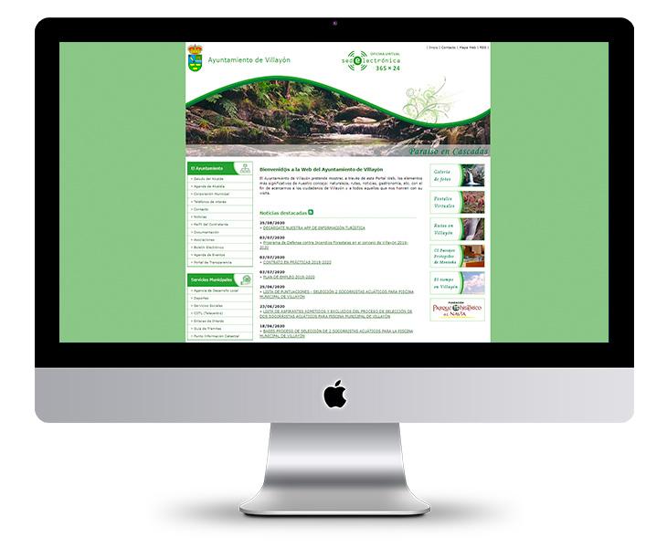 Portal Web Ayuntamiento de Villayón - Asturias