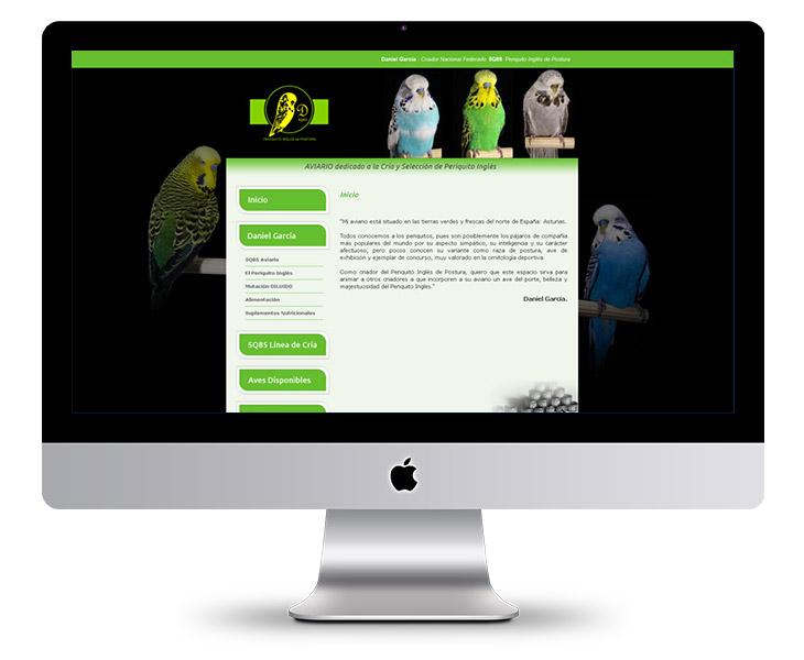 Página Web Periquito Inglés