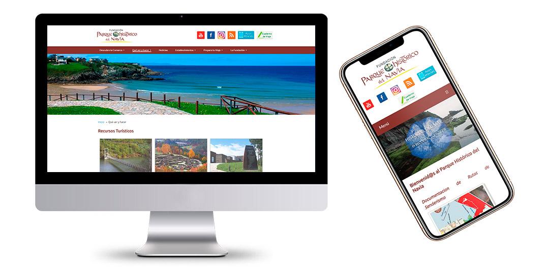Portal Web de la Fundación Parque Histórico del Navia - Asturias