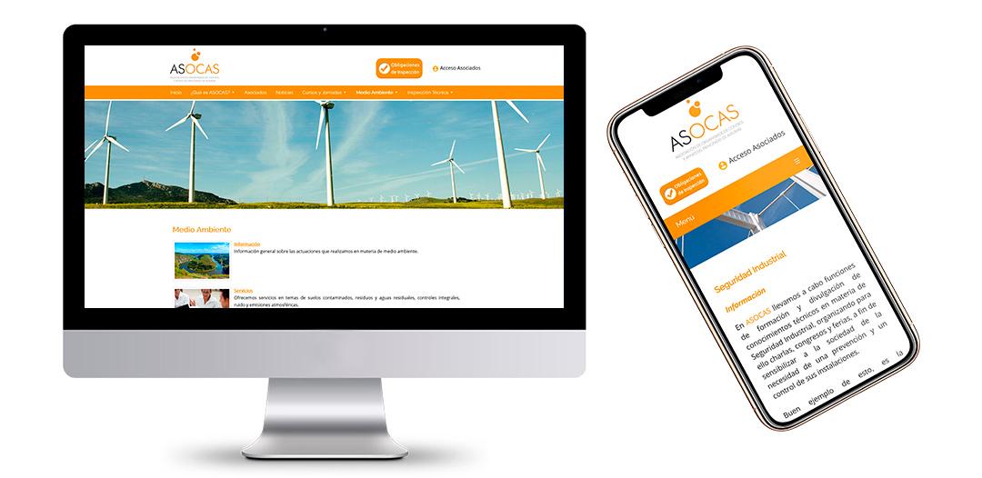 Portal Web de ASOCAS - Asociación de Organismos de Control y Afines - Oviedo - Asturias