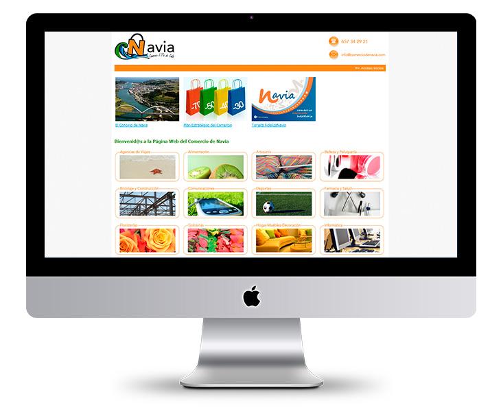 Portal Web del Plan Estratégico del Comercio de Navia - Asturias