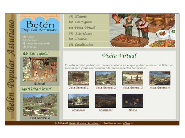 Bel�n Popular Asturiano - Edise Soluciones: diseño y desarrollo de páginas Web