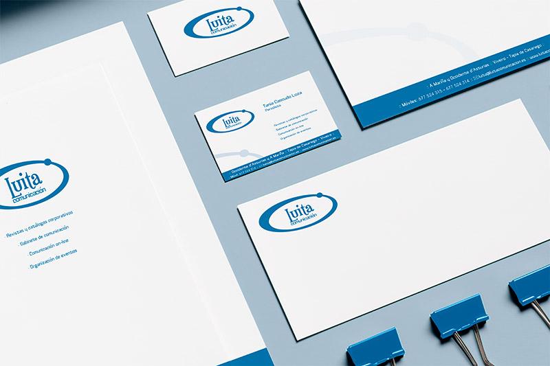 Imagen Corporativa Luita Comunicación - Edise Soluciones: diseño y desarrollo de páginas Web
