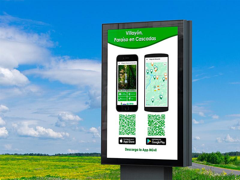 Cartel App Villayón - Edise Soluciones: diseño y desarrollo de páginas Web