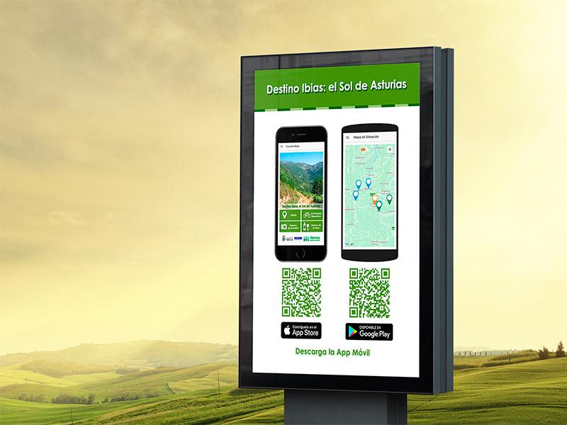Cartel App Ibias - Edise Soluciones: diseño y desarrollo de páginas Web