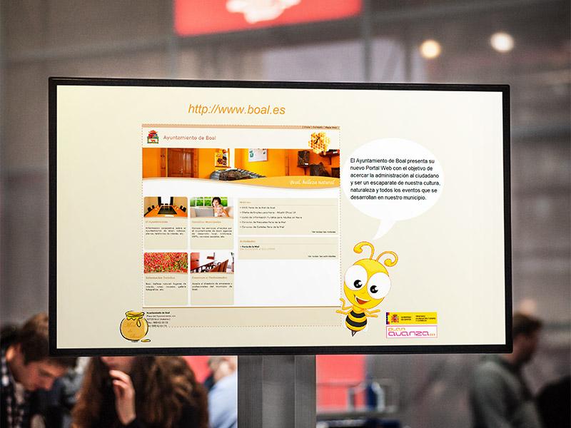 CD Interactivo Ayuntamiento de Boal - Edise Soluciones: diseño y desarrollo de páginas Web