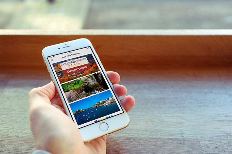 App Recorridos Temáticos del Parque Histórico del Navia - Edise Soluciones: diseño y desarrollo de páginas Web