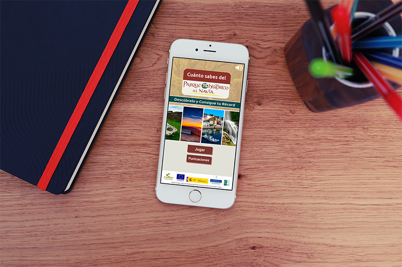 App Trivial Parque Histórico del Navia