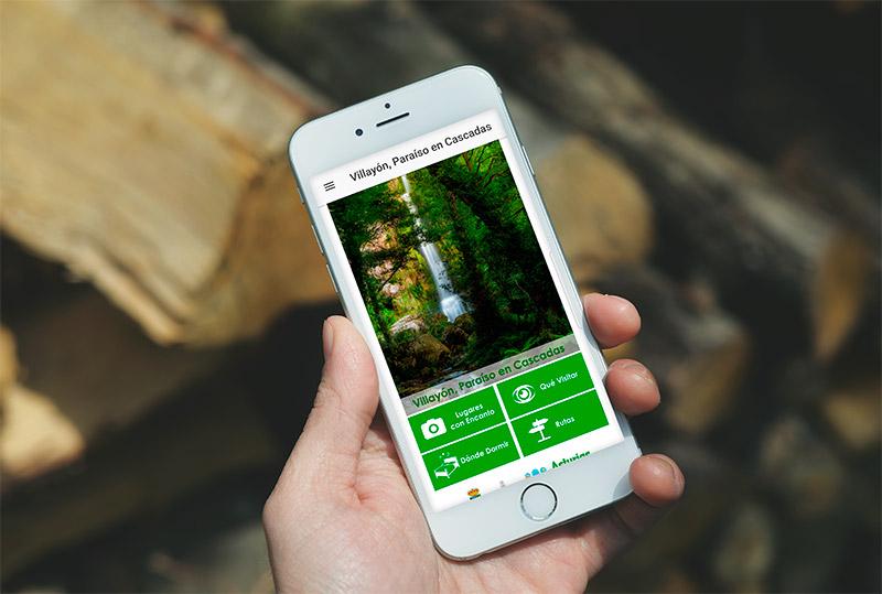 App Villayón Paraíso en Cascadas