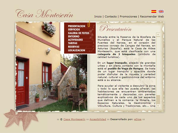 Casa Monteser�n - Cangas del Narcea - Asturias
