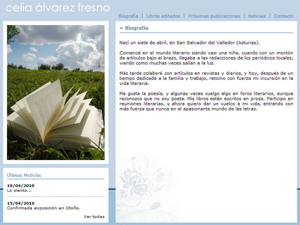 Celia Álvarez Fresno - Edise Soluciones: diseño y desarrollo de páginas Web