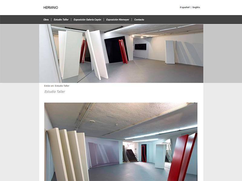 Herminio Escultor - Edise Soluciones: diseño y desarrollo de páginas Web
