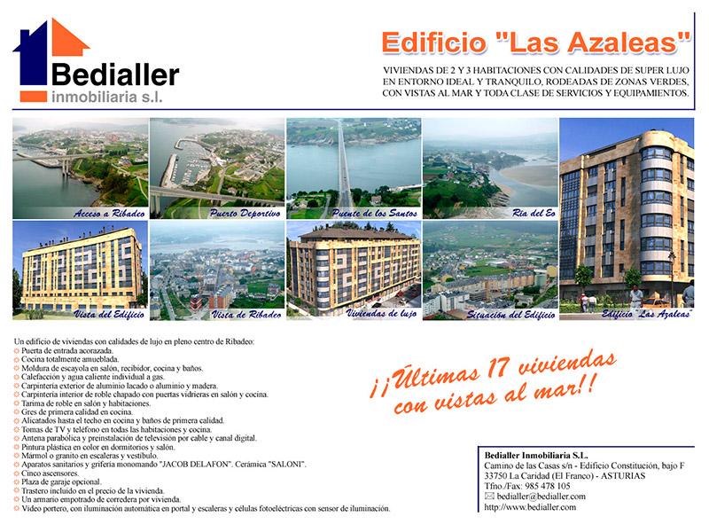 Anuncio Bedialler Inmobiliaria - Edise Soluciones: diseño y desarrollo de páginas Web