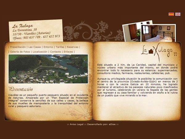 La Xulaga - Edise Soluciones: diseño y desarrollo de páginas Web