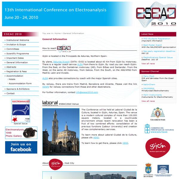 ESEAC 2010 - Edise Soluciones: diseño y desarrollo de páginas Web