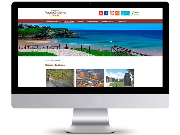 Fundación Parque Histórico del Navia - Edise Soluciones: diseño y desarrollo de páginas Web