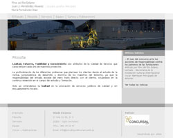 Página Web Estudio Jurídico Mercantil