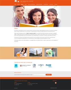 Página Web The American Center